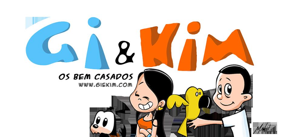 Gi & Kim, os Bem Casados - Tirinhas que você não pode deixar de ler antes - e depois - de casar!